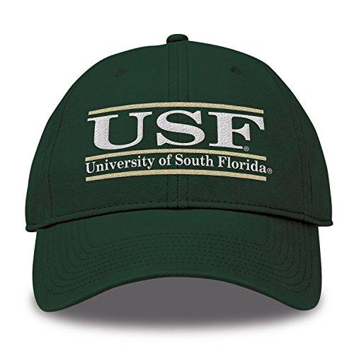 The Game Split Bar Design Trucker Mesh Hat, Dark Green, Adjustable