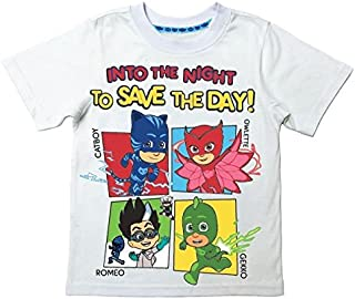 PJ MASKS Toddler Boys' Short Sleeve Tee Shirt