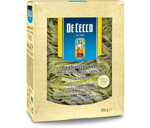 De Cecco Tagliatelle Uovo Spinaci - 250 g