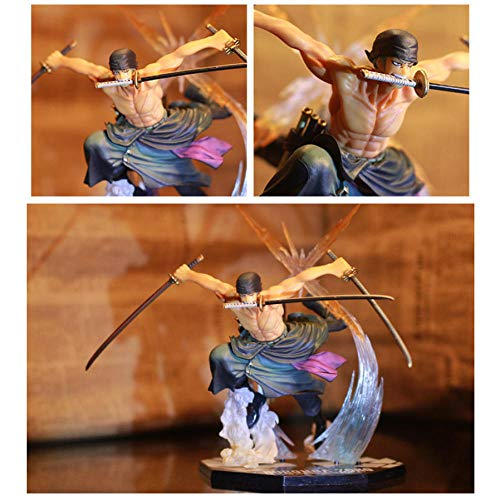 Anime Action Figureanime One Piece Ronoa Zoro Ghostdrie-mes Ghost Cut Ver.PVC Action Collection Figuur Model Gift 21cm