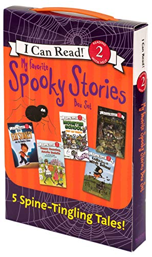 My Favorite Spooky Stories Box Set: 5 Silly, Not-Too-Scary Tales! (I Can Read Level 2, Band 5)