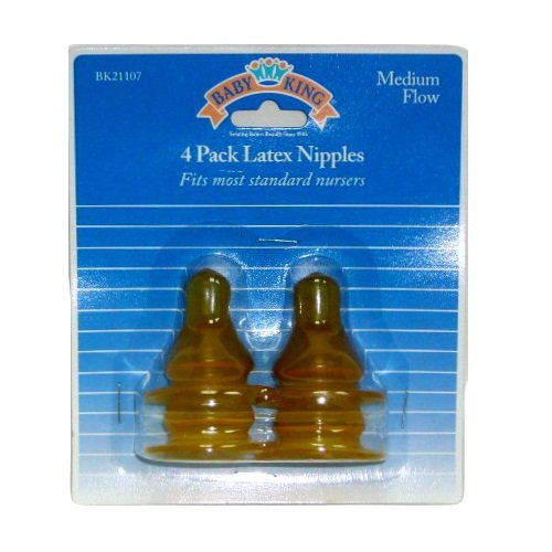 Wholesale Baby Latex Popular product Nipples Direct stock discount 4pk