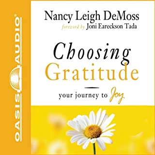 Choosing Gratitude audiobook cover art