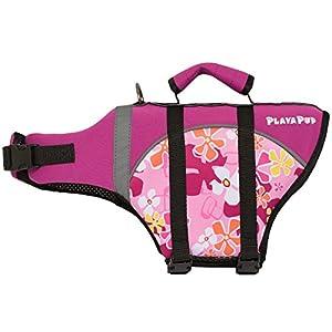 PlayaPup Dog Life Jacket, Misty Pink, X-Large