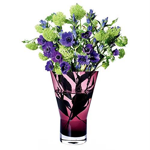 KOONNG Jarrón De Decoración del Hogar Florero De Vidrio Hecho A Mano Estilo Nórdico Flor En Forma De Y Insertada Sala De Estar Flores Secas Botella De Lirio De Bambú Rico