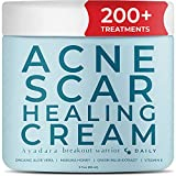 Ayadara Acne Scar Healing Cream | Vitamin E Cream for Zit, Milia, & Blemish Scarring | Aloe Vera Scar Removal Cream for Marks & Dark Spots | Post-Pimple Treatment for Teens & Adults | 200+ Treatments