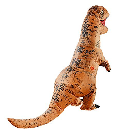 SUNREEK Disfraz Inflable de Dinosaurio T-Rex Adulto, Trajes de ...
