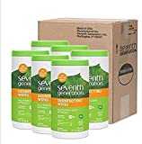 Seventh Generation Disinfecting Multi-Surface Wipes (Pack of 6) 70-count Tubs