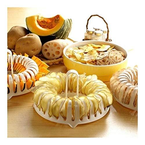 Montague Mond0 Mikrowelle Apfelfrucht Kartoffelchip Chip Slicer Snack Maker DIY Set Fach-Küche-Werkzeug