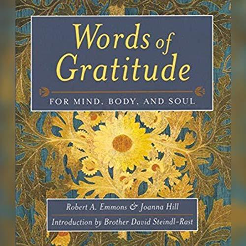 Words of Gratitude cover art