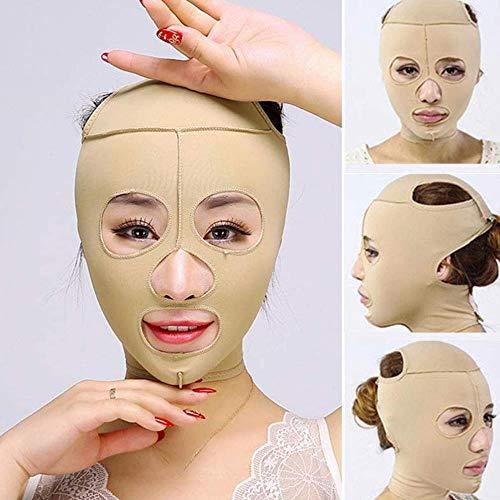 DLLY Visage V Shaper Face Slimming Bandage V Face Line Strap and Chin Cheek Lift Slim Protective Mask Belt Belt Strap Belt, p