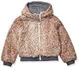 Jessica Simpson Girls' Toddler Fashion Jacket Coat, Light Brown, 3T