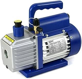 ZENY 4CFM 1/3HP Electric Vacuum Pump Refrigerant R410a R134a HVAC Deep Vane Air Conditioner w/ 1/4