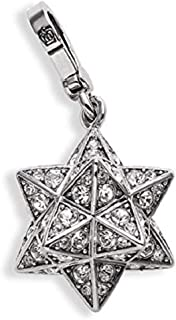 Pave Star Charm (Silver)