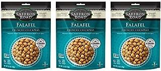 Saffron Road Falafel Crunch Chickpeas, 6 oz (Pack of 3)