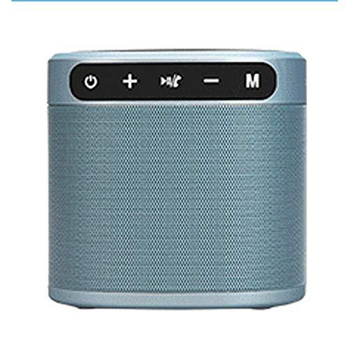 TSSM Handy drahtlose Aufladung Bluetooth-Lautsprecher Mini tragbare 2-in-1-Stereoanlage in Dual-Treiber-Lautsprecher Freisprech-Mikrofon zu Hause und im Büro gebaut