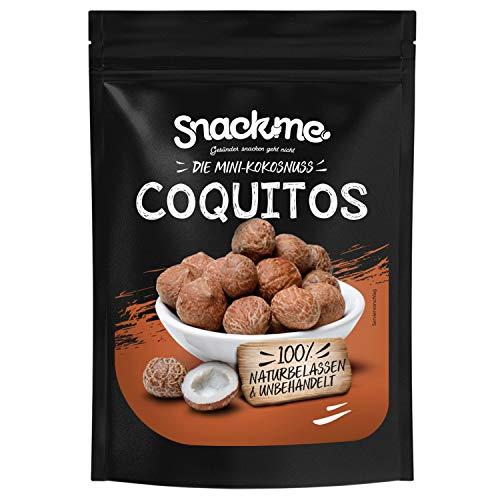 Coquitos Mini-Kokosnüsse Baby-Kokosnüsse Kokosnüsschen Nüsse Chile 250g ohne Schale naturbelassen unbehandelt natur