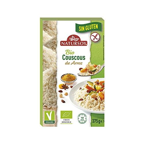 Natursoy Cous Cous Con Arroz Sin Gluten 375 Gramos Envase - 400 g