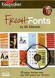 Fresh Fonts (CD-ROM)