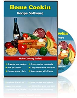 Home Cookin: Easy to Use Software with a Recipe Database, Grocery Manager, and Meal Planning Calendar (Windows)