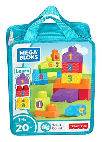 Mega Bloks First Builders 123 Count