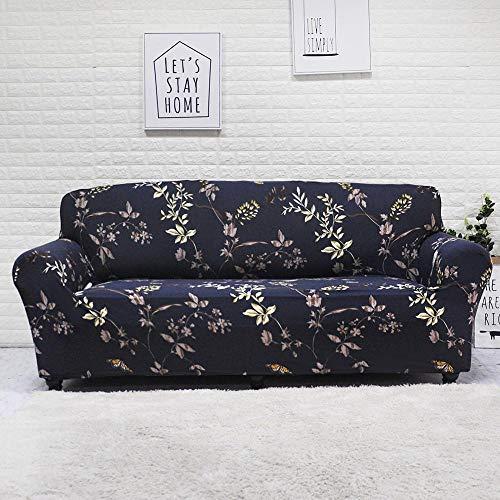Funda de sofá elástica para Sala de Estar, Toalla de sofá, Funda de sofá Antideslizante para Mascotas, Juego de Fundas de sofá Strench A10 de 4 plazas