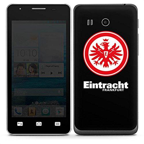 DeinDesign Huawei Ascend G525 Folie Skin Sticker aus Vinyl-Folie Aufkleber Eintracht Frankfurt Fanartikel Fußball Wappen