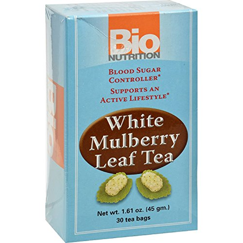 Bio Nutrition Tea - White Mulberry - 30 Bags - Gluten Free - Supports an Active Lifestyle - Vegetarian