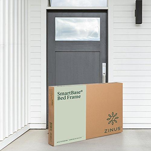 Zinus Shawn 14 Inch SmartBase Mattress Foundation / Platform Bed Frame / Box Spring Replacement / Quiet Noise-Free / Maximum Under-bed Storage, Queen