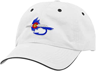 Custom Richardson Running Cap Colorado Flag Fishing Fly Embroidery Polyester Hat