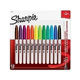 Sharpie Pen 30075 Sharpie FINE12CT Marker Set, Multicolor