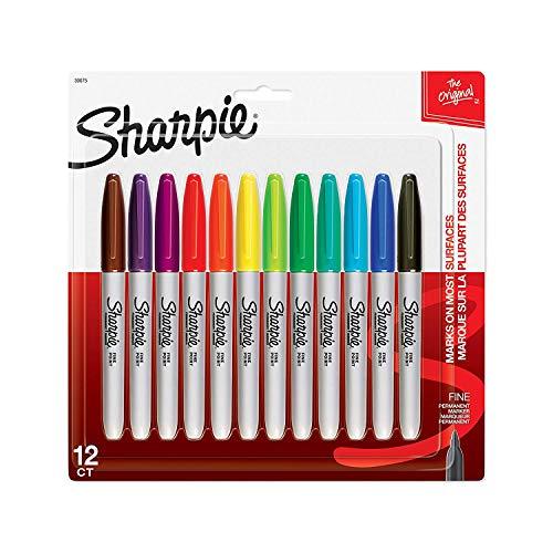 Sharpie Pen SHARPIE FINE12CT MARKER SET, Multicolor 12 Count