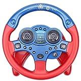 Aspiree Volante de conducción para niños con luz y Sonido, Juguete de Volante de conducción de simulación, Rompecabezas de Juguete de educación temprana, Adecuado para bebés