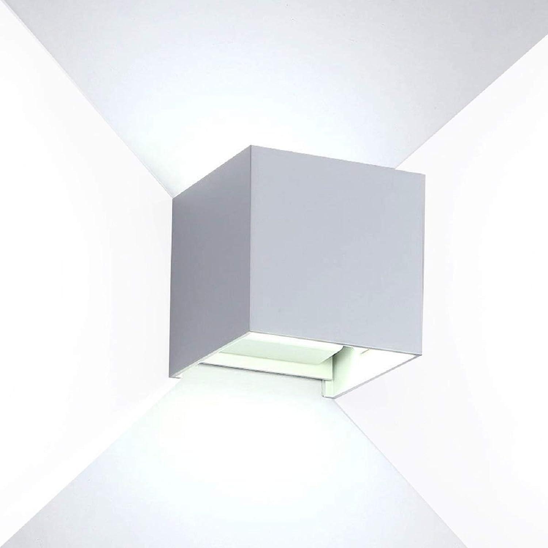 LED-Wandleuchte für den Auenbereich, 40 W, IP65, doppelte Lichtregulierung 3600 Lumen Bianco frotdo Bianco