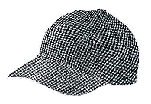 Cap Basecap Kochmütze / Kochhut in Pepita aus 100% Baumwolle ca. 230gr. (Unisex)