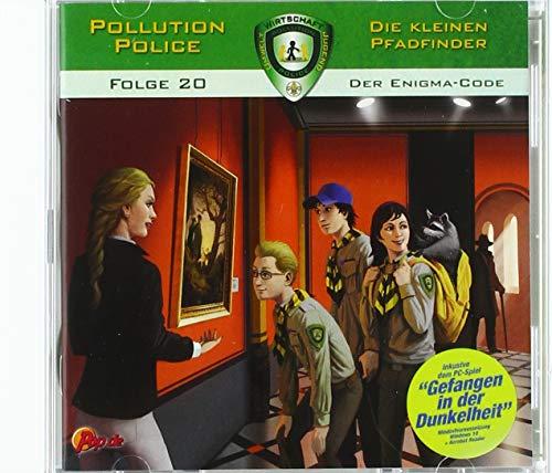 Pollution Police - Die kleinen Pfadfinder 20: Der Enigma-Code (inkl. PC Spiel): Inklusive Jubiläums PC Spiel Gefangen in der Dunkelheit