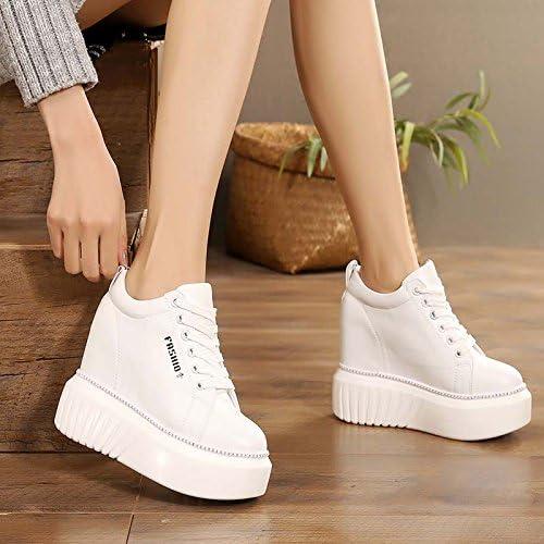 AJUNR Transpirable Sandalias Transpirable Sandalias Fondo Grueso Alto mas Alto zapatos Fina Calzado 10 cm
