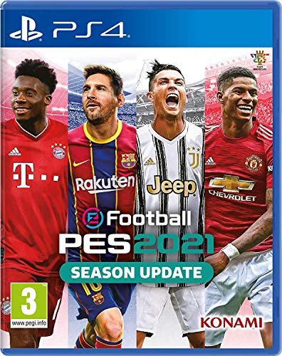 Efootball Pes 2021 Season Update - Playstation 4 (Ps4) - Lingua italiana