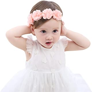 Baby Girls Headband Birthday Crown Fashion Hair Accessories for Newborn Infants Toddlers