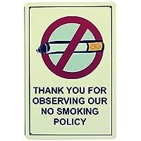 Thank You No Smoke 金属板ブリキ看板警告サイン注意サイン表示パネル情報サイン金属安全サイン