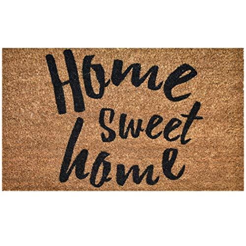 Ninamar Door Mat Home Sweet Home Natural Coir - 75 x 45 cm