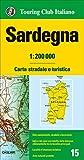 Sardaigne : 1/200 000