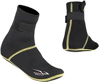 ノーブランド品 全5サイズ ネオプレン スイミング 水泳 サーフィン スノーケリング ダイビングソックス ブーツ - L