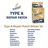TEAR-AID Fabric Repair Kit, 3 in x 5 ft Roll, Type A, Single