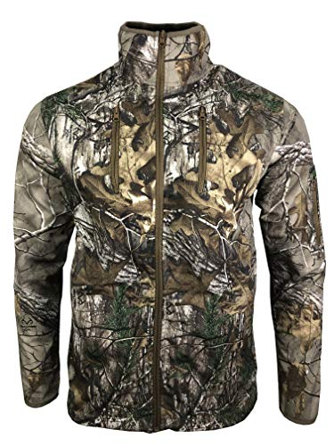 Realtree Unisex Ex Xtra Durable Brush Jacket per la Caccia e la Pesca all'aperto Multicolore M