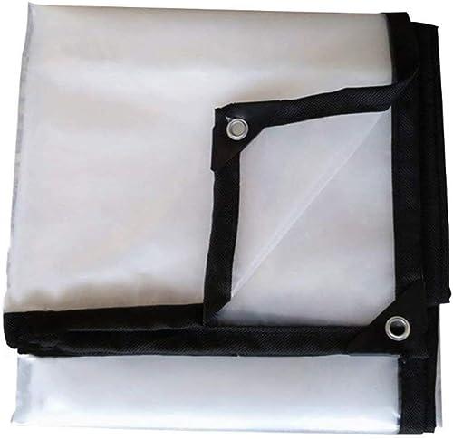 Garden - tarpaulin Bache en Plastique Transparente épaississant Le Tissu Isolant en Tissu pour Stores, différentes Tailles 120G   M2