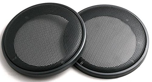 Pair 6.5 Inch Car Audio Speaker Metal Black Grill Cover Guard Protector Grille Universal
