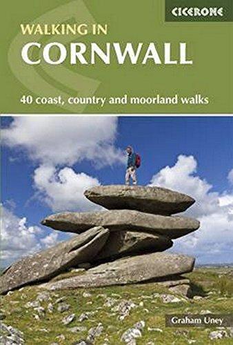 Walking in Cornwall: 40 Coast, Country and Moorland Walks (Cicerone Walking Guide)
