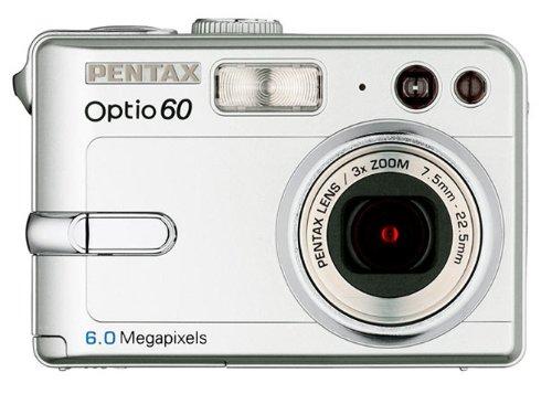 Pentax Optio 60 - Cámara Digital Compacta 6.4 MP