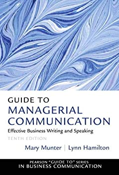 Best guide to managerial communication Reviews